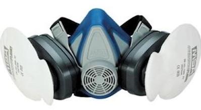 MSA 200 LS Halfgelaatsmasker - l