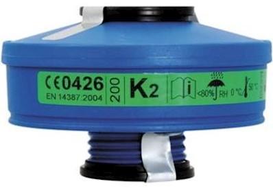 Spasciani 201 Gasfilter K2