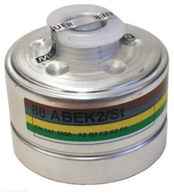 MSA 92 Filter A2B2E2K2P2