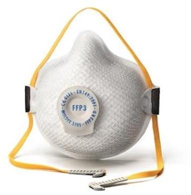 Moldex 370515 stofmasker FFP3 R D met uitademventiel