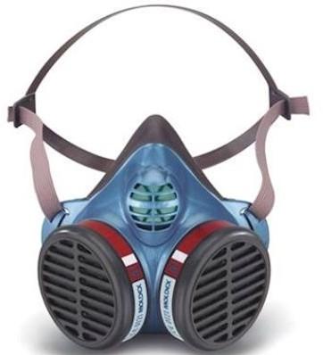 Moldex 5104 Halfgelaatsmasker A1