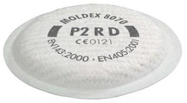Moldex 807001 stoffilter P2 R D