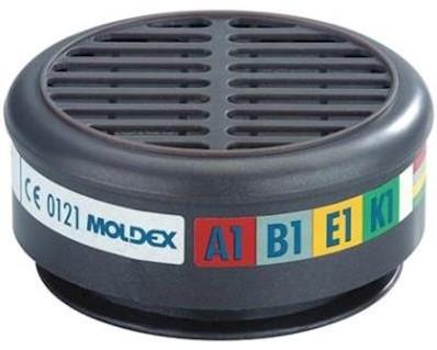 Moldex 8900 filters A1B1E1K1