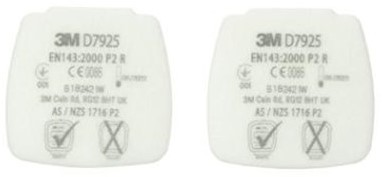 3M D7925 Stoffilter P2