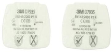 3M D7935 Stoffilter P3