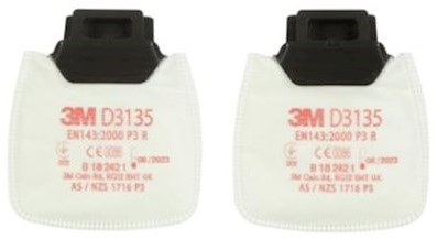 3M D3135 Stoffilter P3