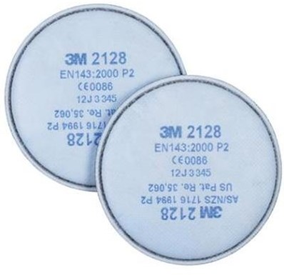 3M 2128 Stoffilter P2