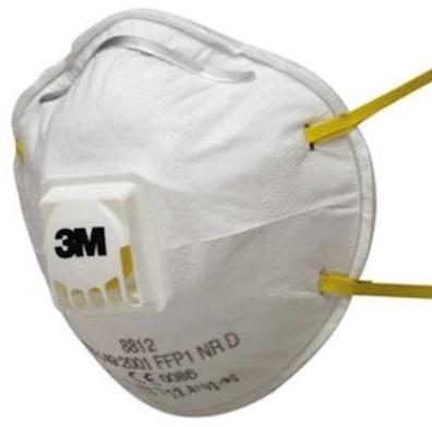 3M 8812 stofmasker FFP1 NR D met uitademventiel