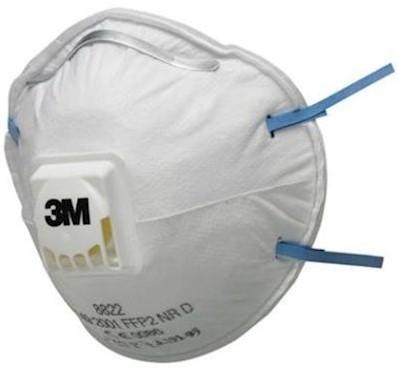3M 8822 Stofmasker FFP2